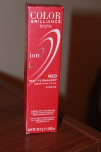 ion color brilliance brights in red