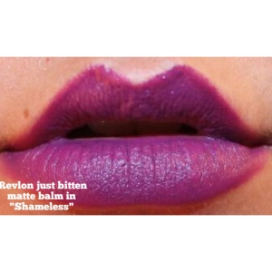 Revlon Just Bitten Matte Balm in Shameless