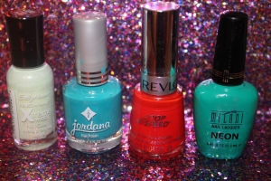 Recent Nail Polishes: Colors