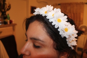 flower headband by Ami Garza