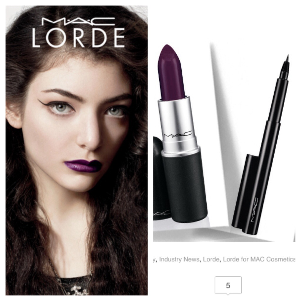 Lorde's MAC Cosmetics Collaboration is Here: See the Line Before It HitsStores