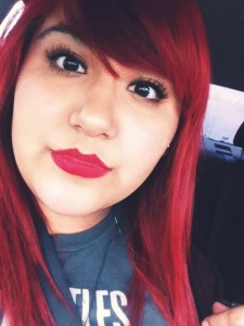 Ami Garza red hair