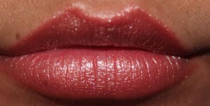 sparkling salmon lipstick by nyx cosmetics picture by ami garza