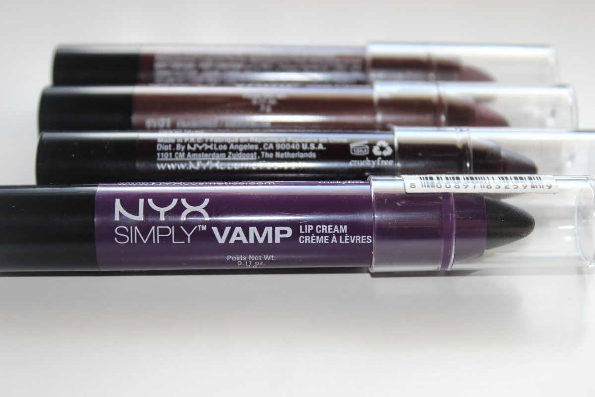 Nyx Simply Vamp Lip Creams