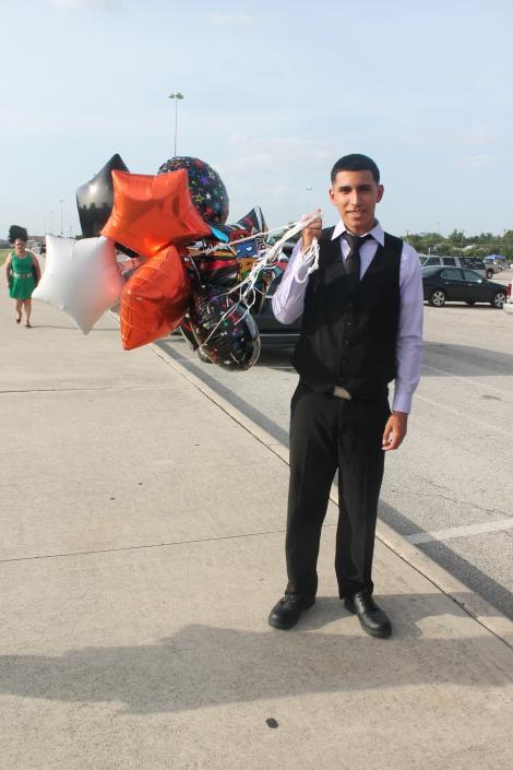 Cris graduating
