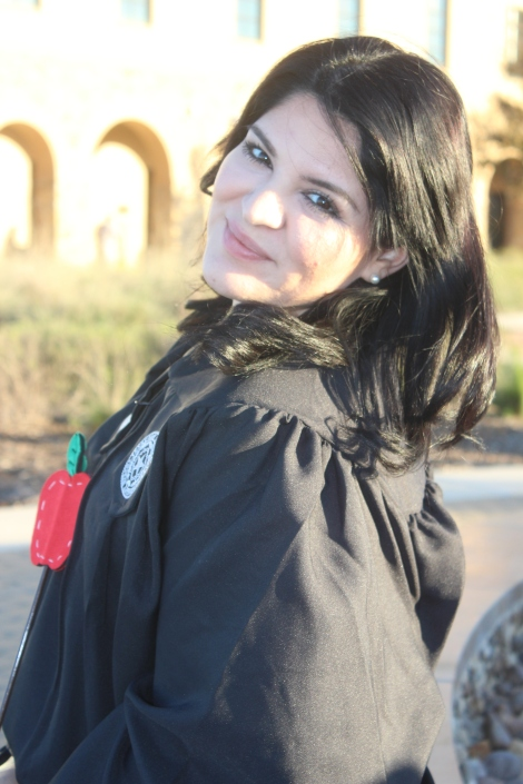 claudia graduating