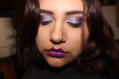 ami garza frozen inspired eye look