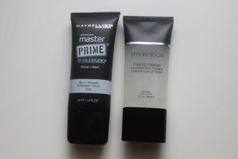 maybelline primer vs, smashbox primer