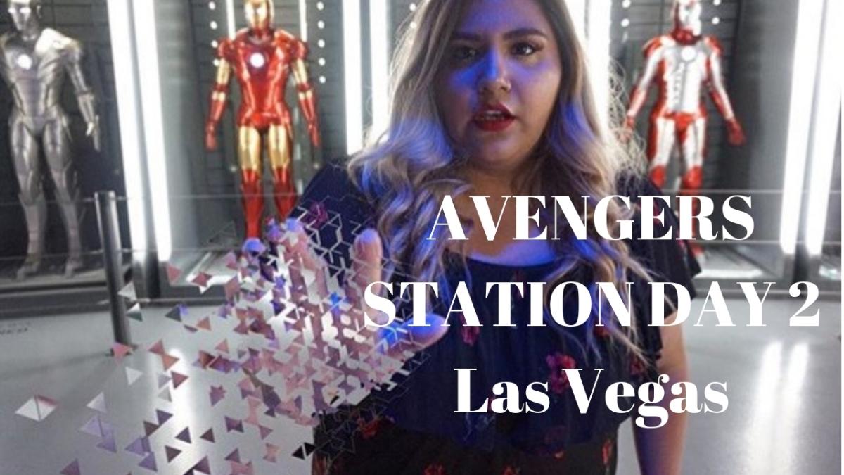 Las Vegas DAY 2: Avengers Station & Whalburgers